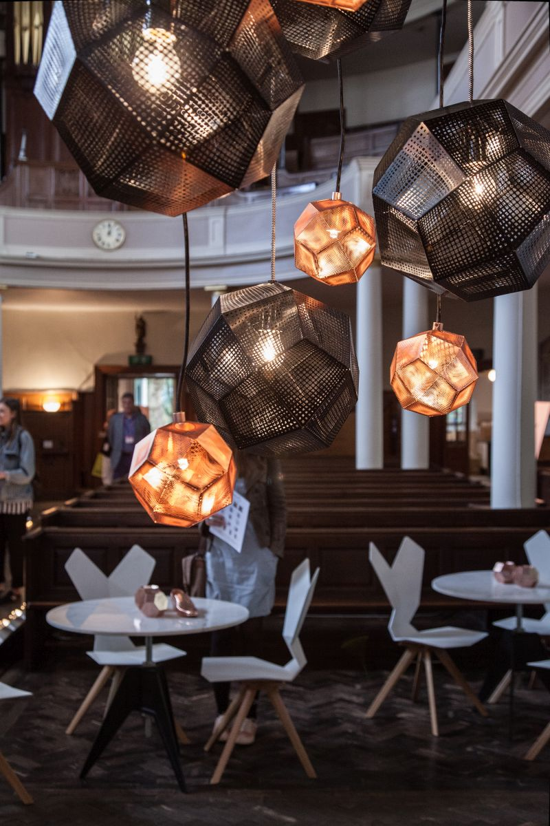 Etch shade TomDixon Modern Pendant Lights