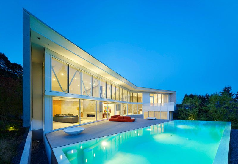 View Modern House With Swimming Pool Pics