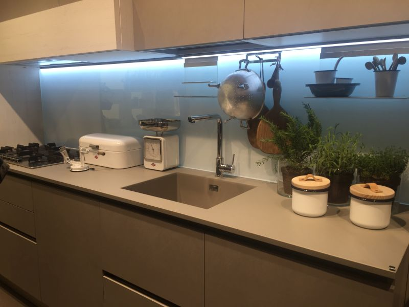 Kitchen backsplash High-Efficiency LED Lighting