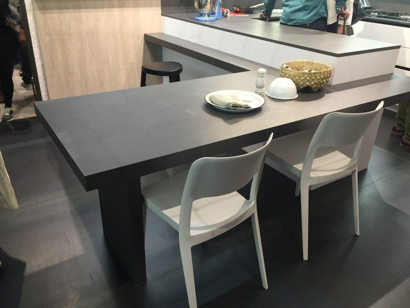 Kitchen table island height