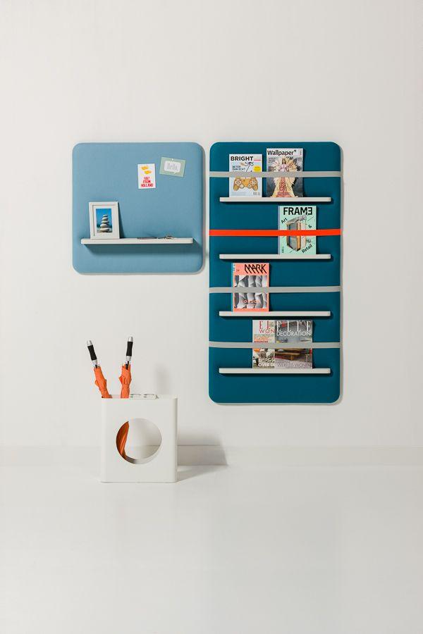 Pillow wall organization system