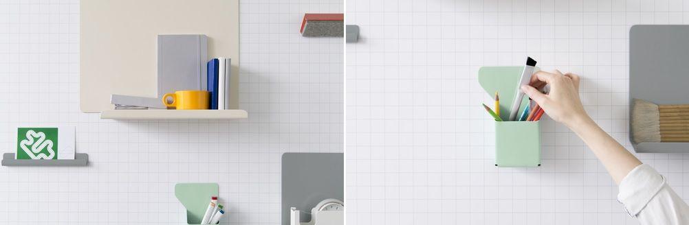 Polarity wall organization system