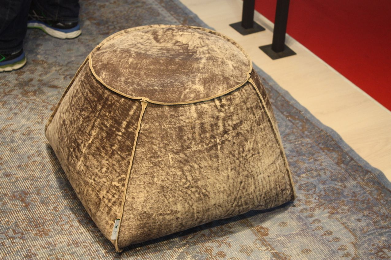 Pouf from Combray Textile