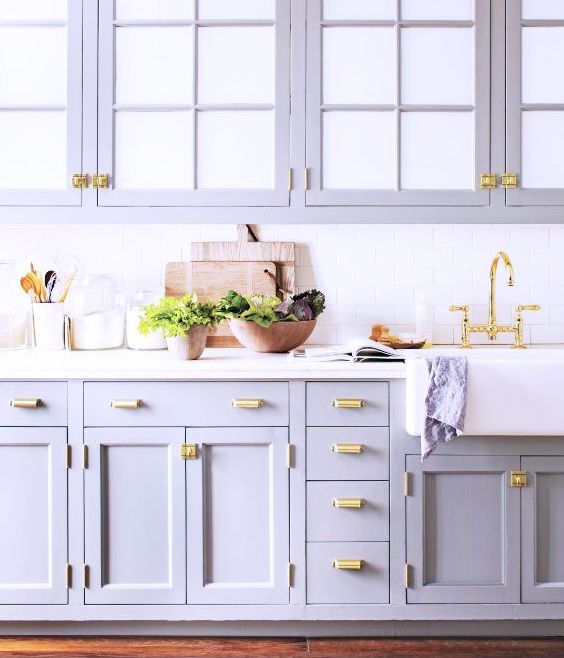 Pristine levender kitchen