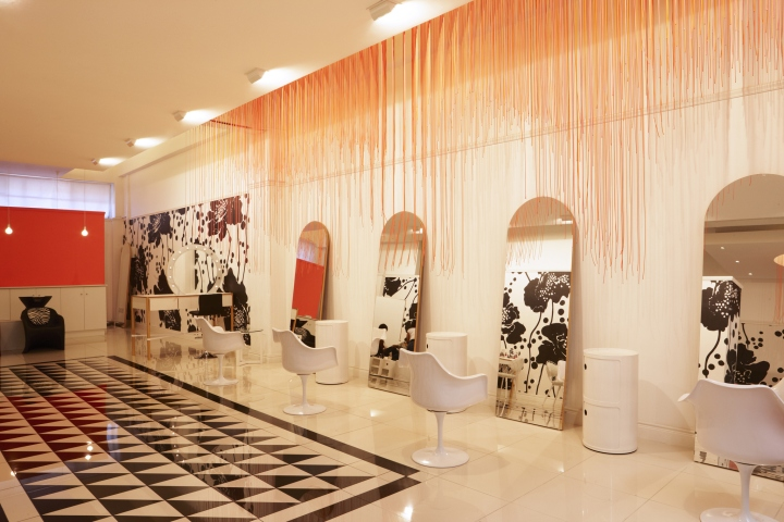 South Africa Glam5 beauty salon floor mirrors