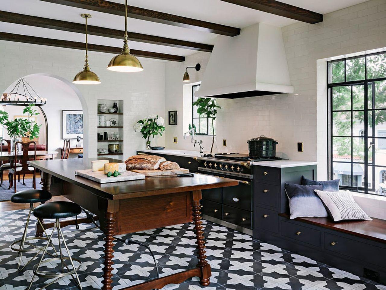 Spanish kitchen design