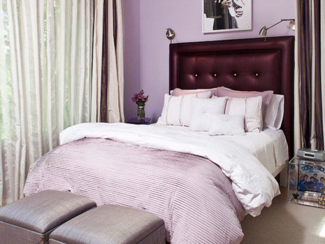 Stunning levender bedroom