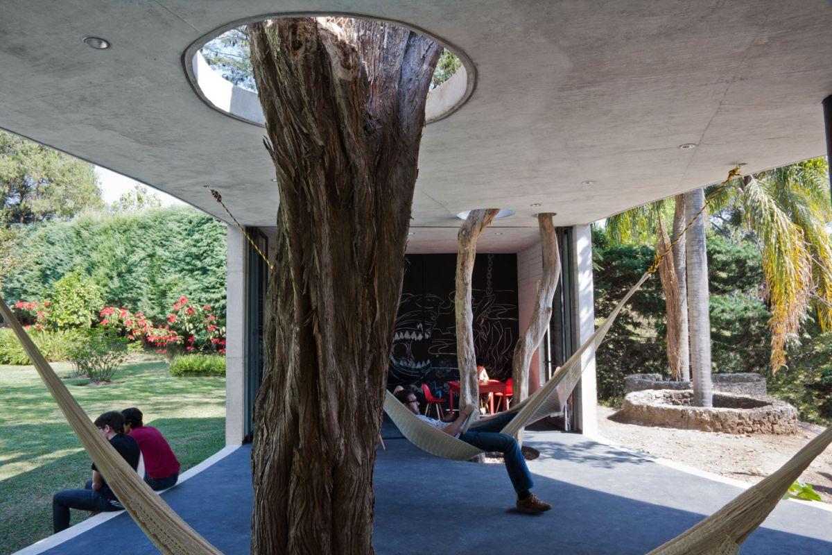 Tepoztlan Lounge Open Space Interior