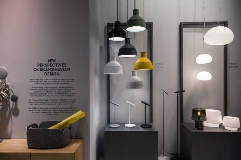 Unfold and fluid pendant lamps