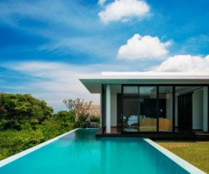 two story pool house designs