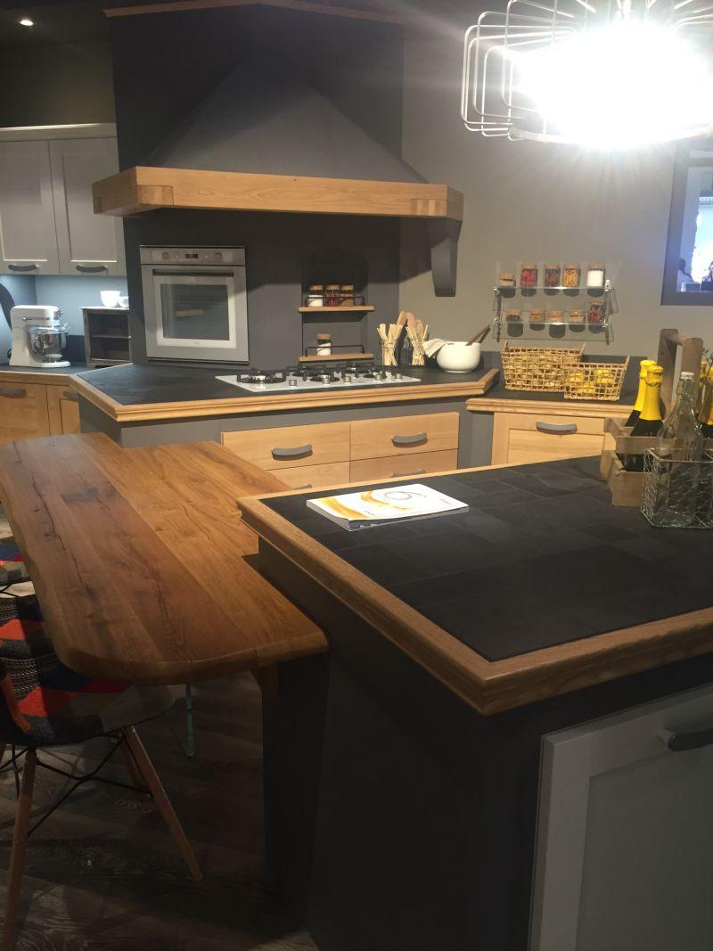 multiheight kitchen countertop design
