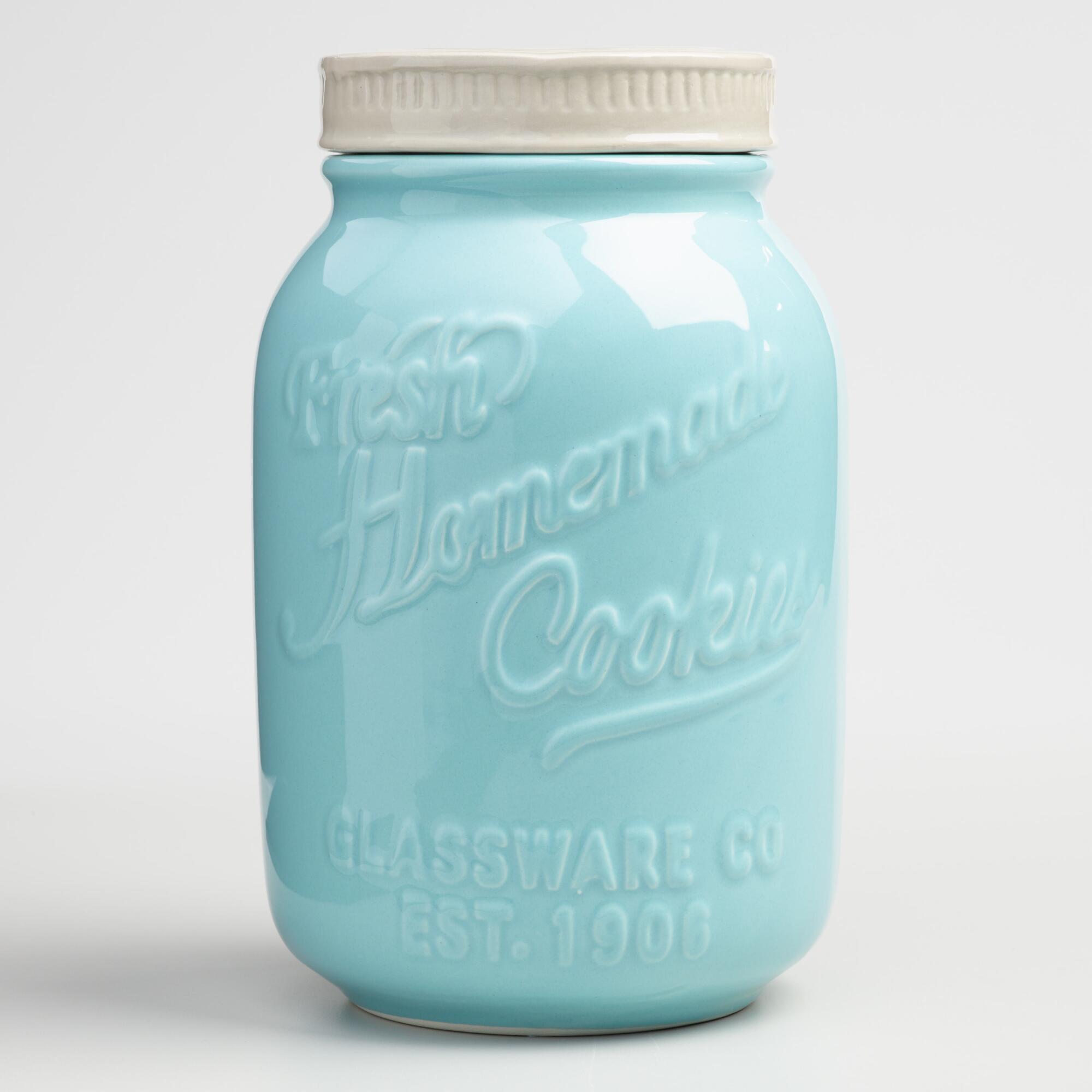 Ball jar cookie jar