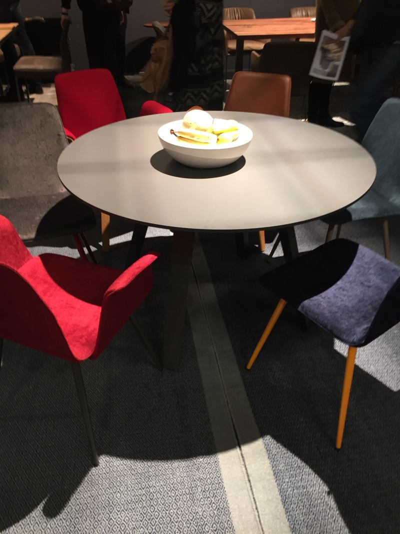 Colorful chairs for dining table