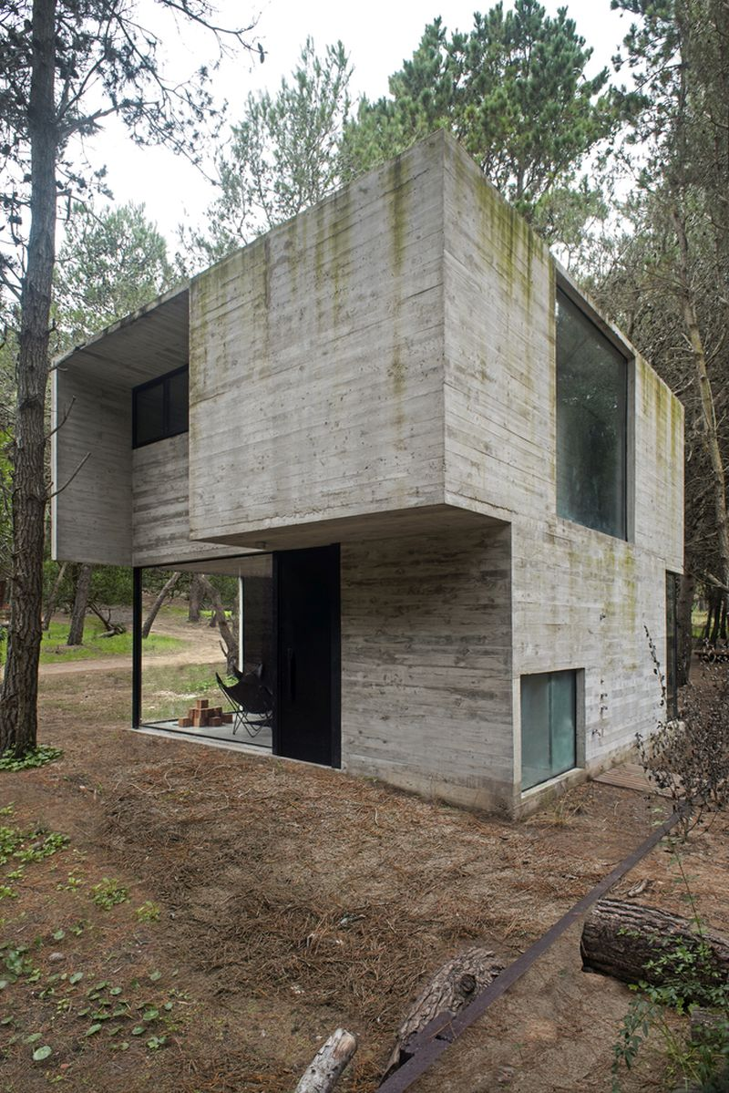 H3 House concrete structure