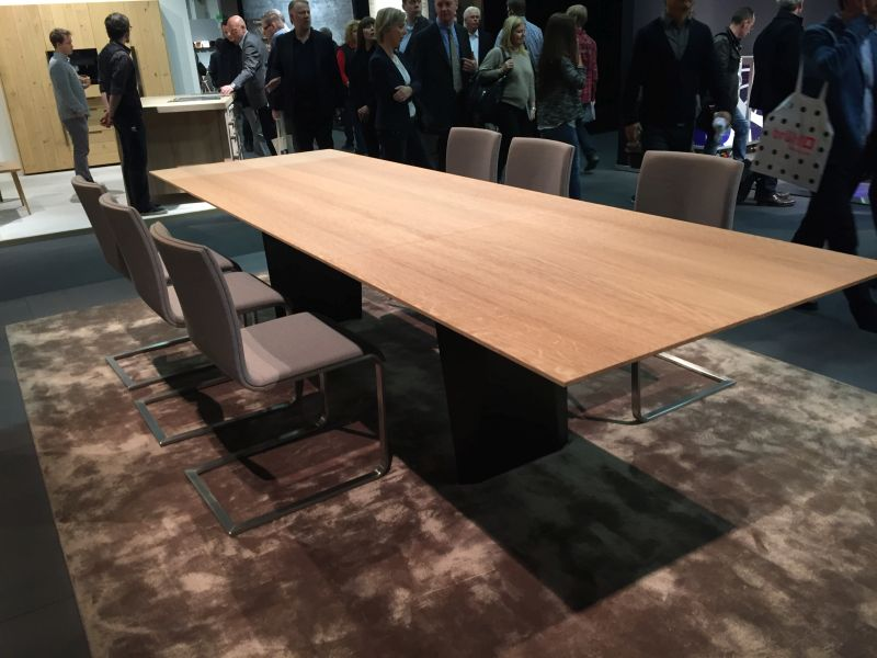 Large dining table used also for meeting