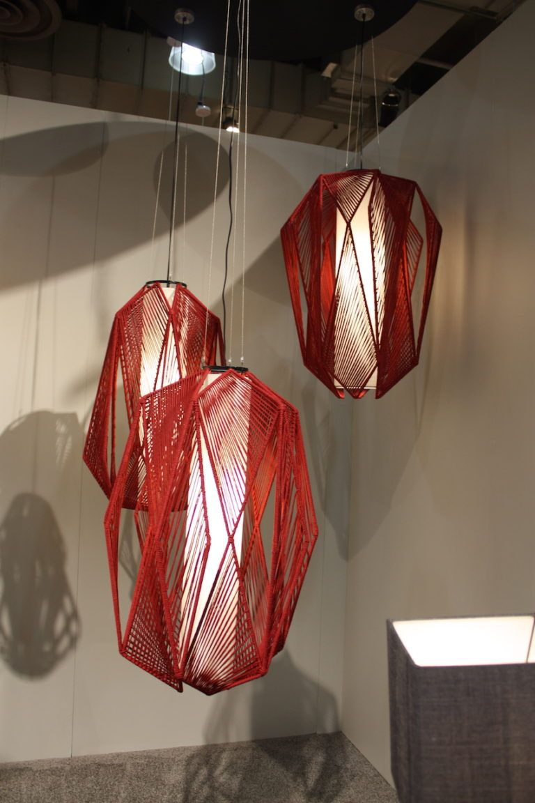 Lija fiber pendant lights