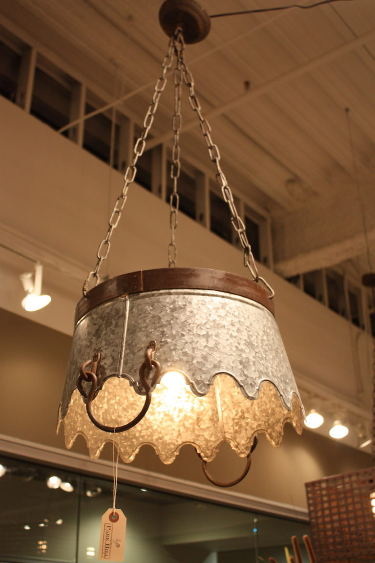 Park Hill bucket lamp