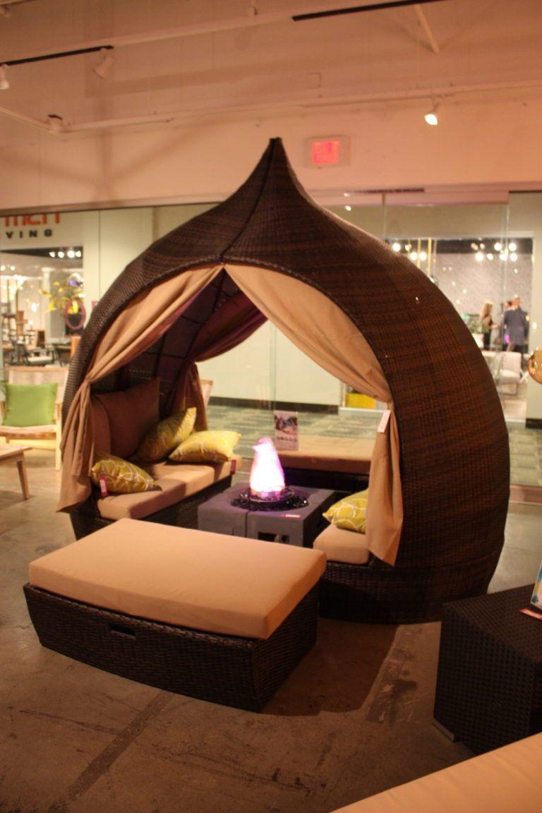 Zuo outdoor basket tent