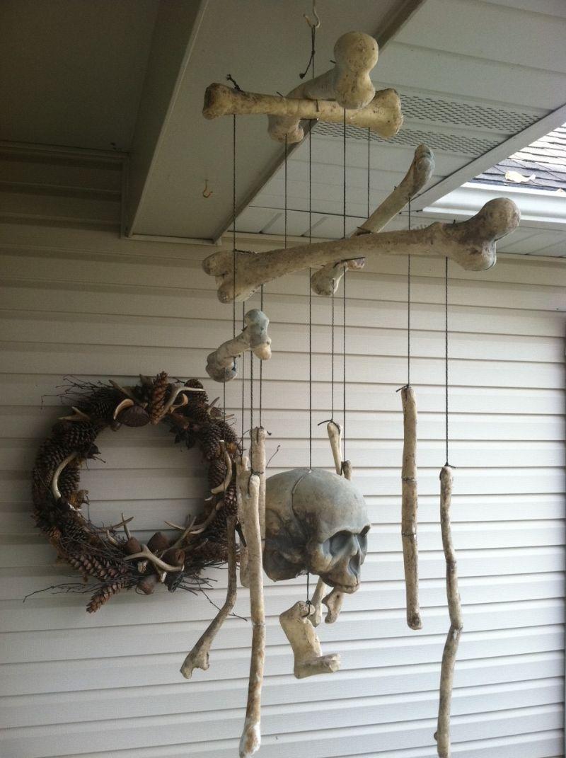 Bones set mobile for Halloween