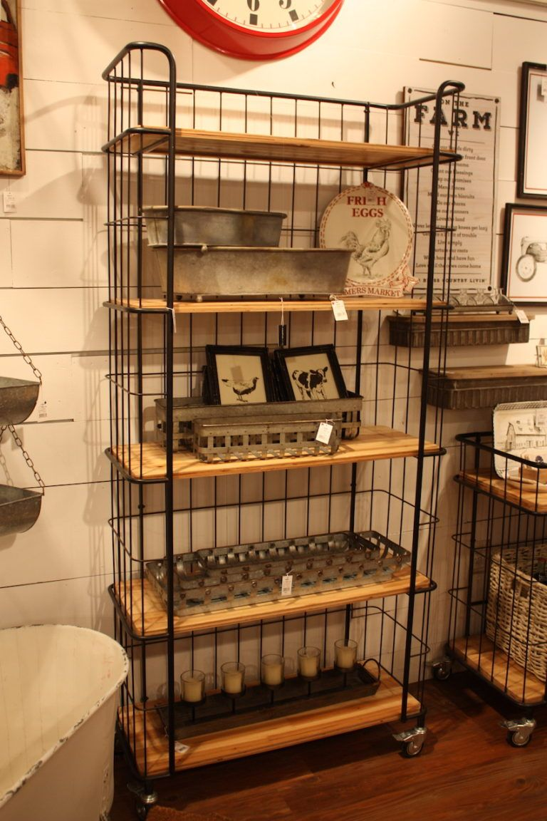 Creative coop bakers shelving