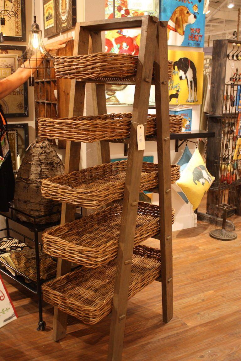 Creative coop basket display storage
