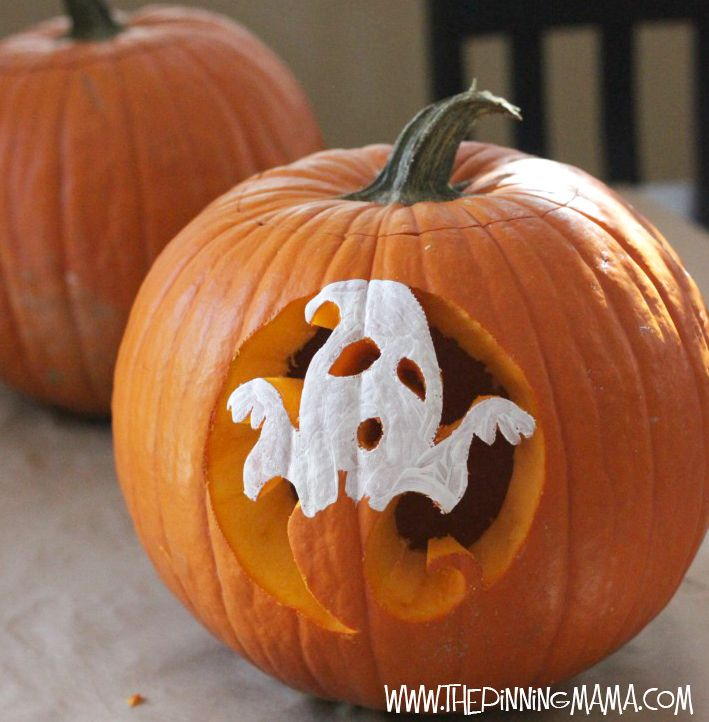 Easy pumpkin halloween carving