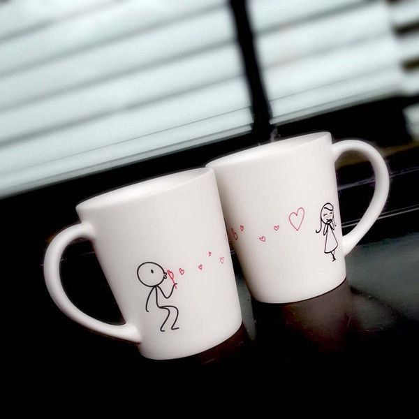 From My Heart To Yours His & Hers Coffee Mug Set