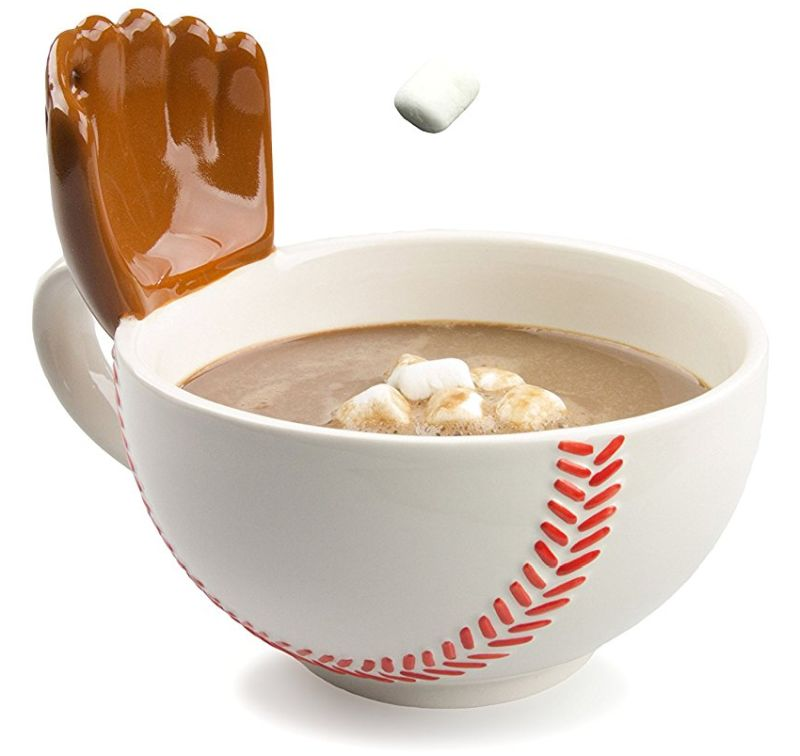 Glove coffee mug