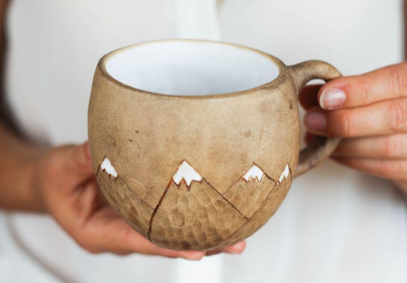 Inspired by nature coffee mug