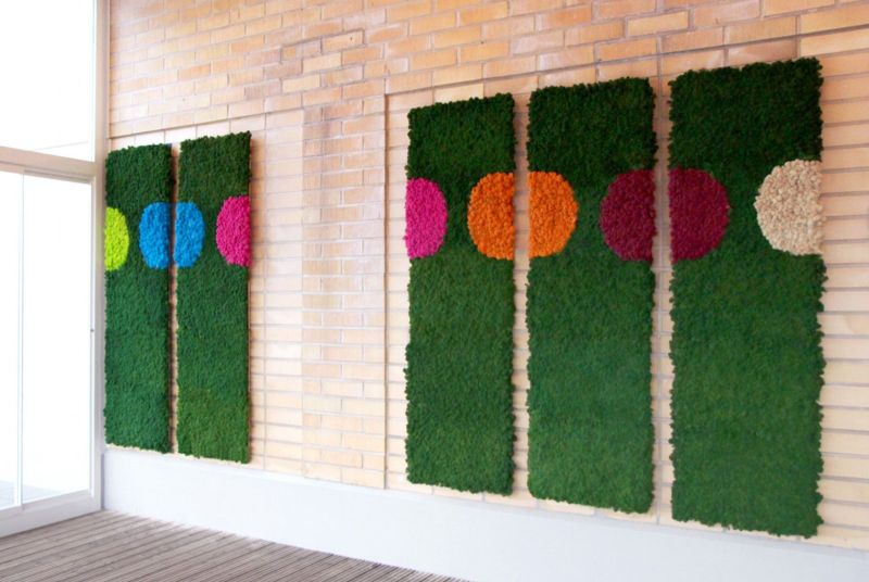 Polarmoss vertical wall design