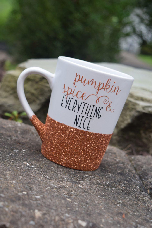 Pumpkin spice coffee mug