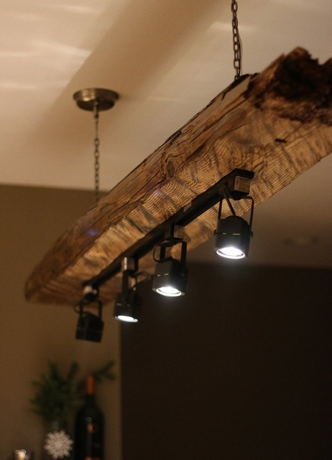 Track Light Chandelier