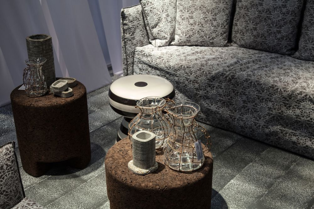 Cork Stool or Side Table