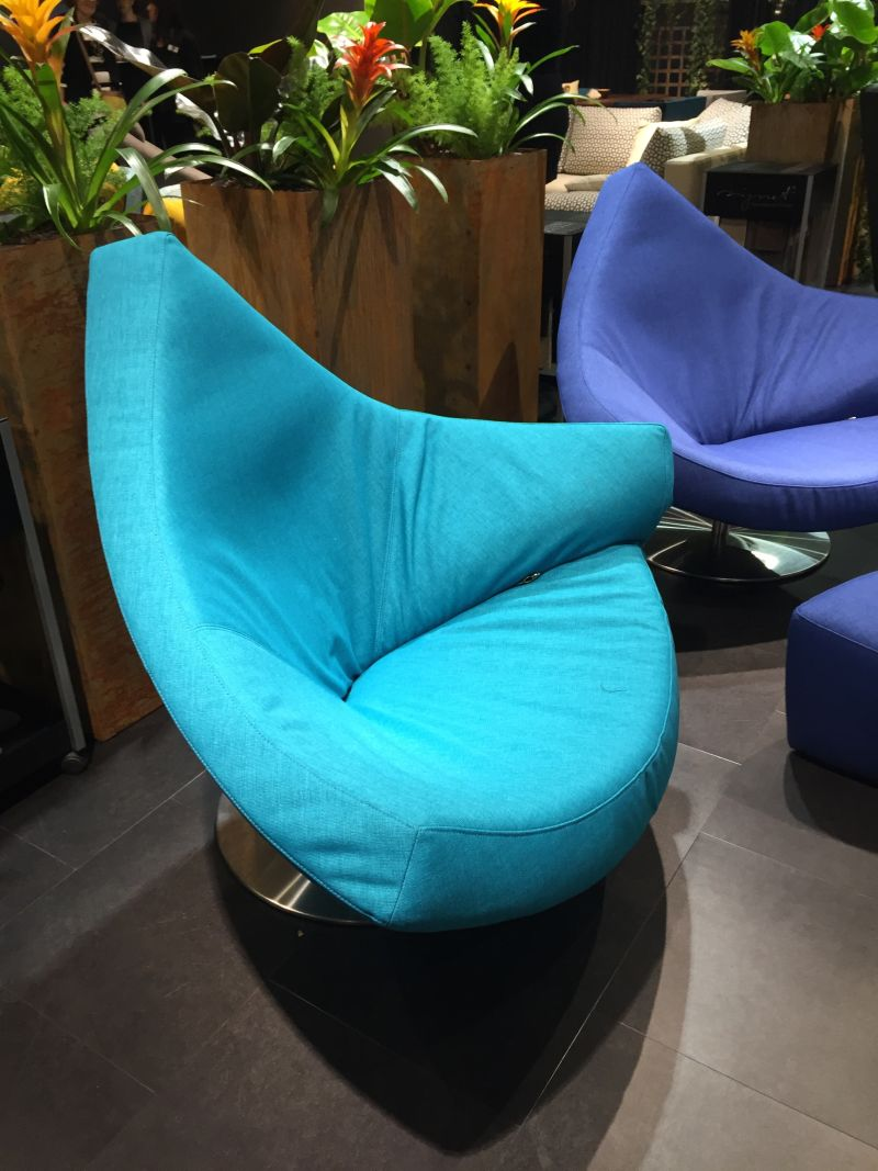 Cyan Aqua Color chairs