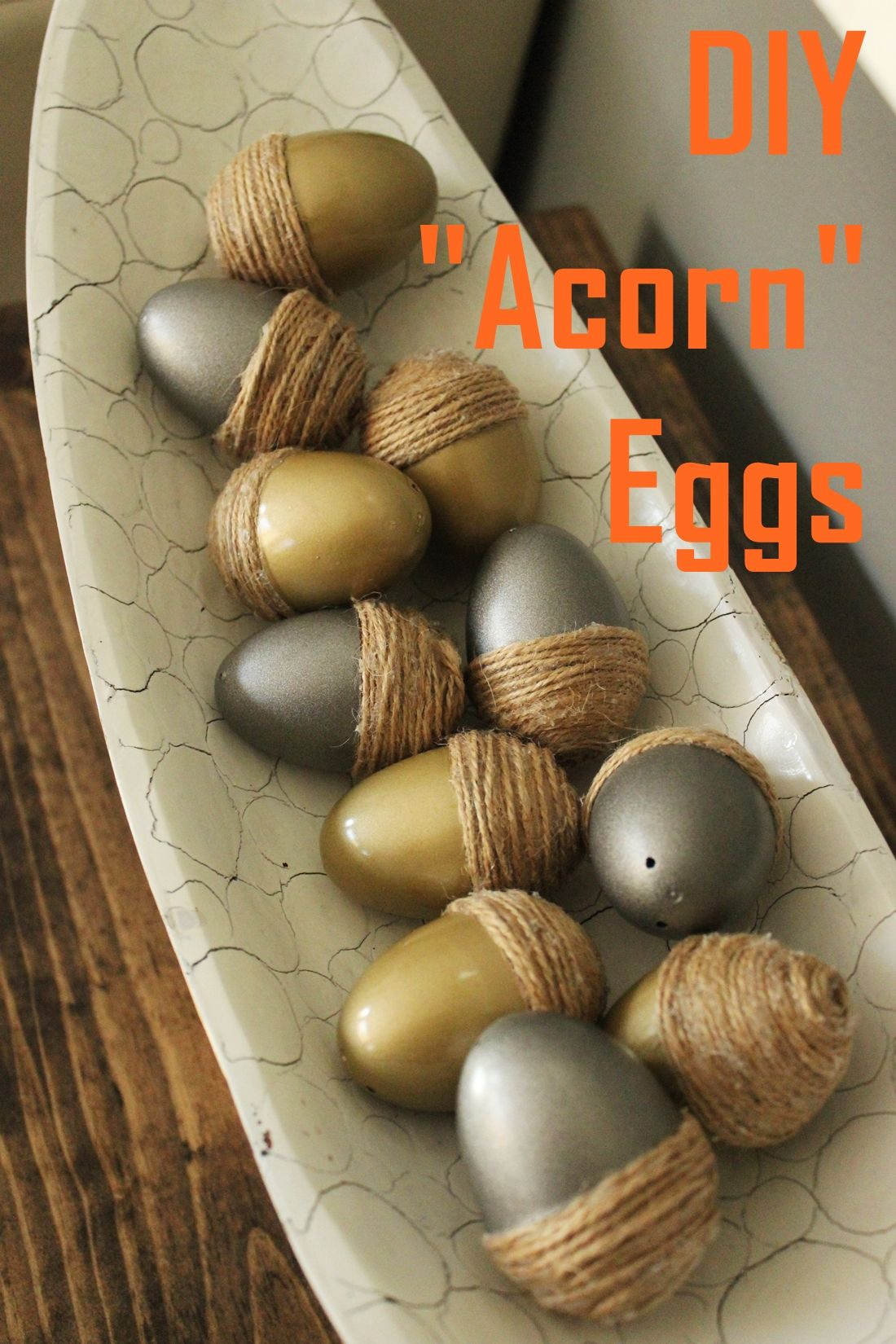 DIY Acorn Eggs