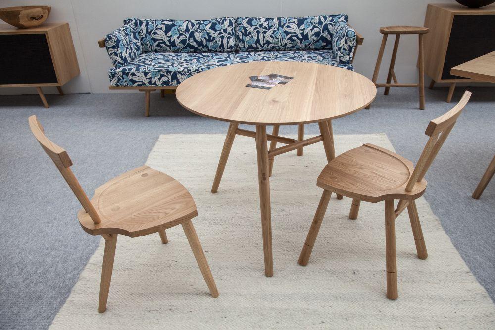 Four Legged Wood Chair