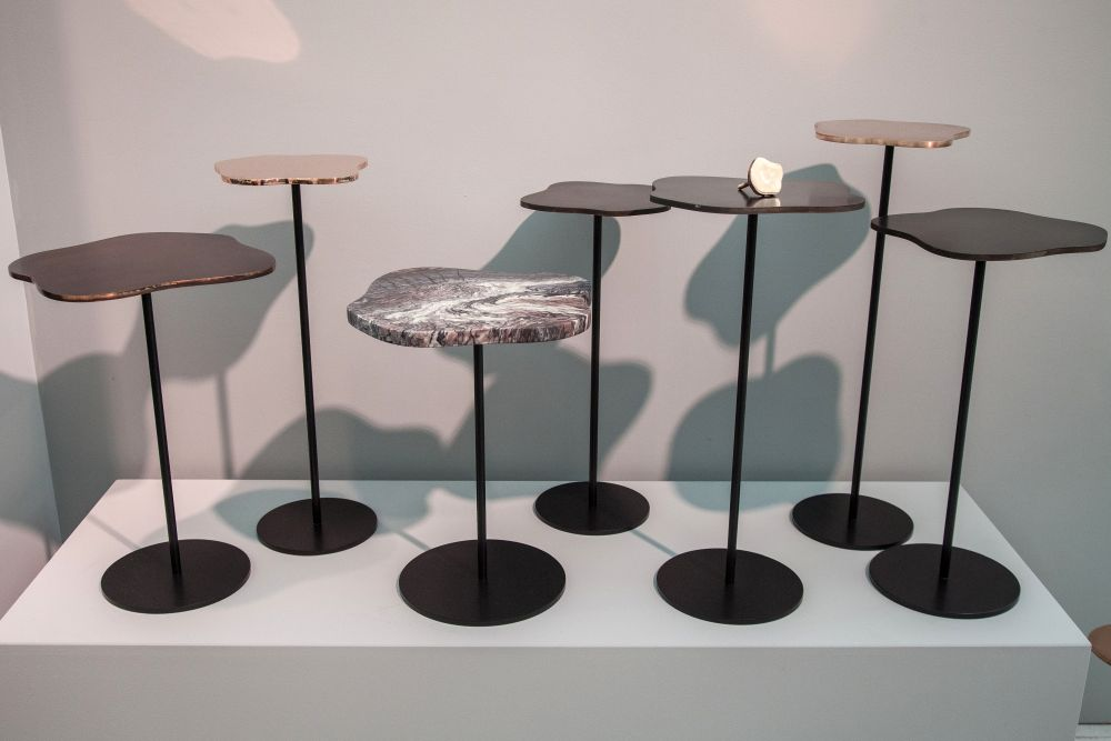 Grace lily side table design