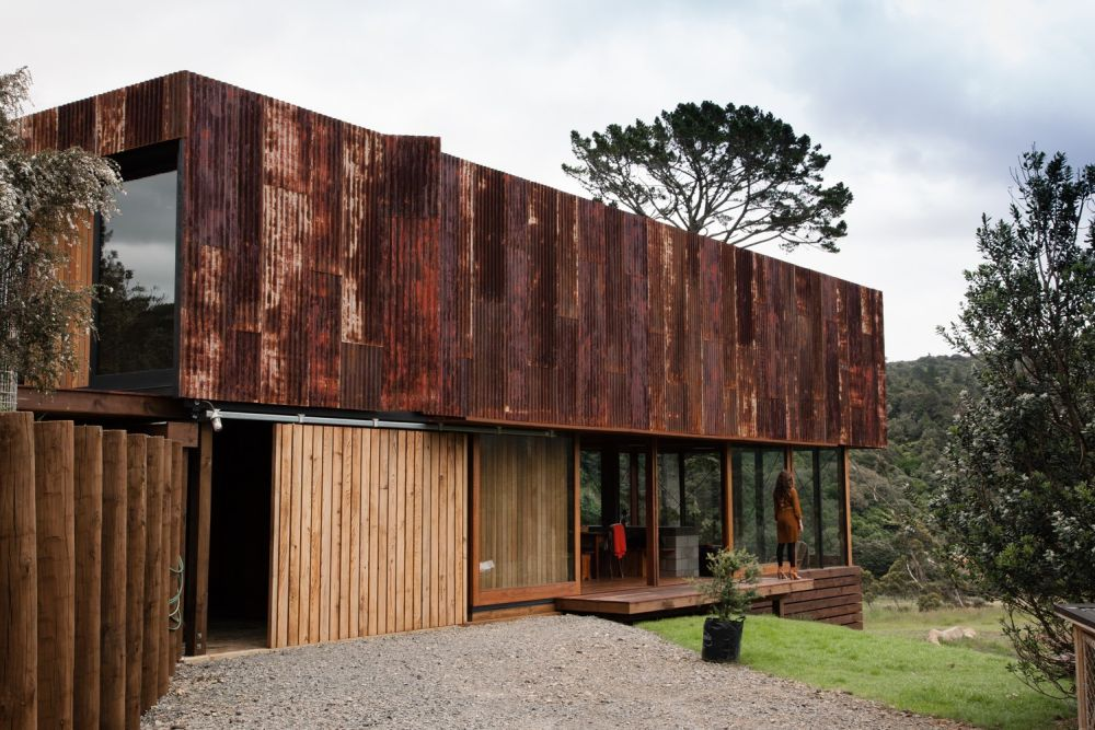 K Valley House Exterior from Corten