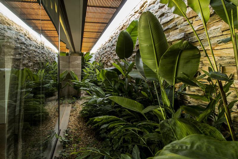 MCNY House interior garden