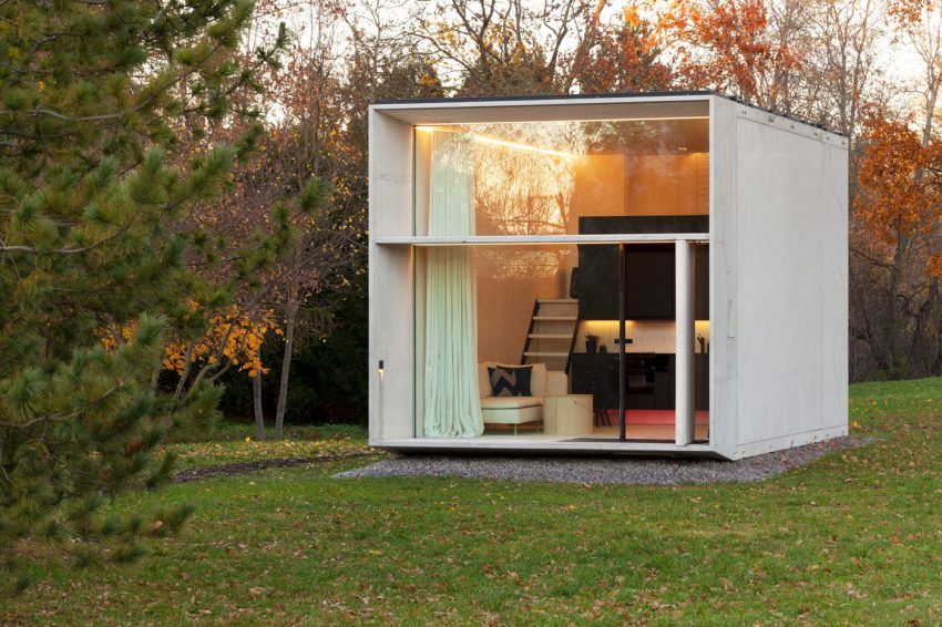 Movable Pre-Fab Mini House Prototype