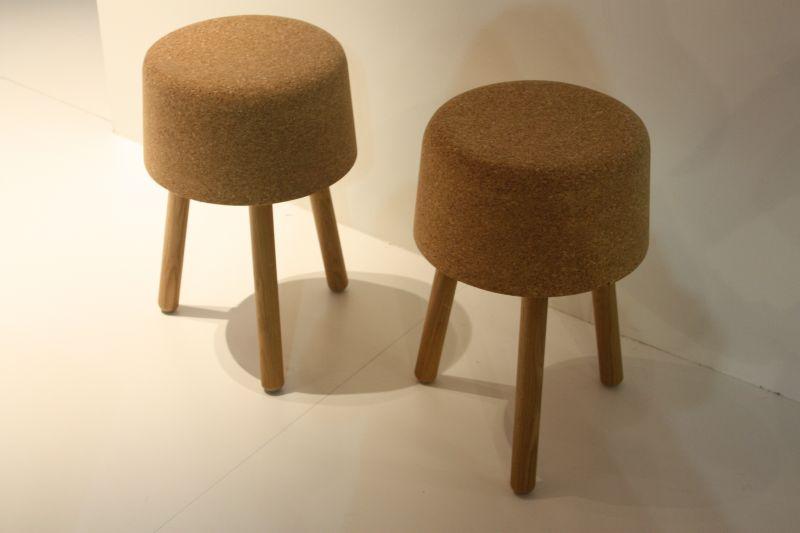 Small cork stool