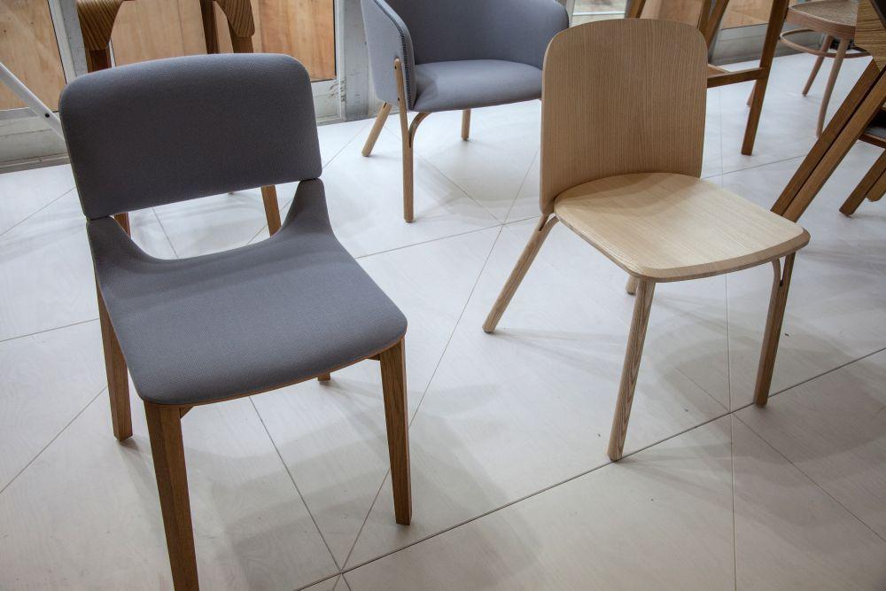 Split chair design from Ton