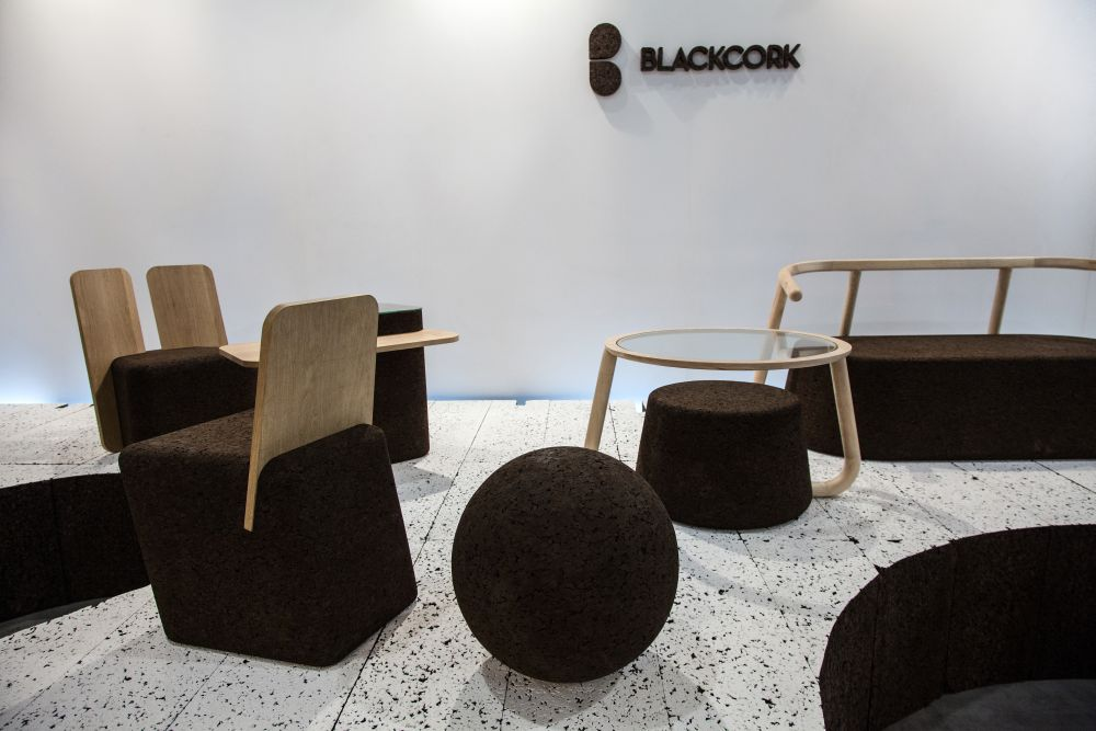 The cork collection of furniture