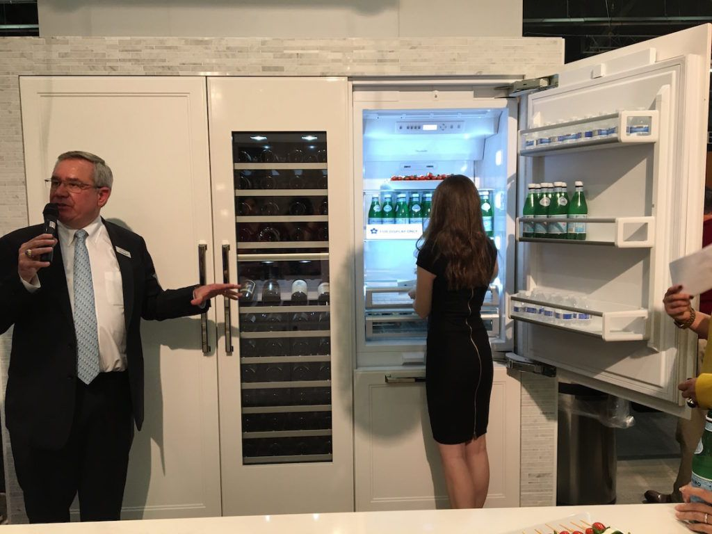 Thermador's kitchen system is sleek and cutting edge.