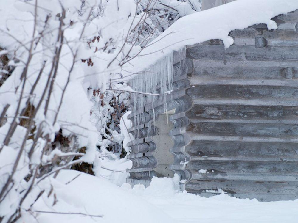 winter Concrete Refugi Lieptgas