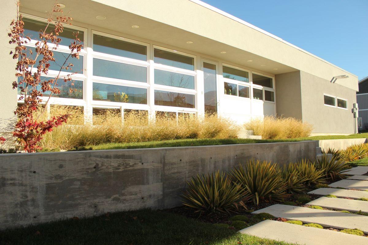 Curb Appeal - concrete planters