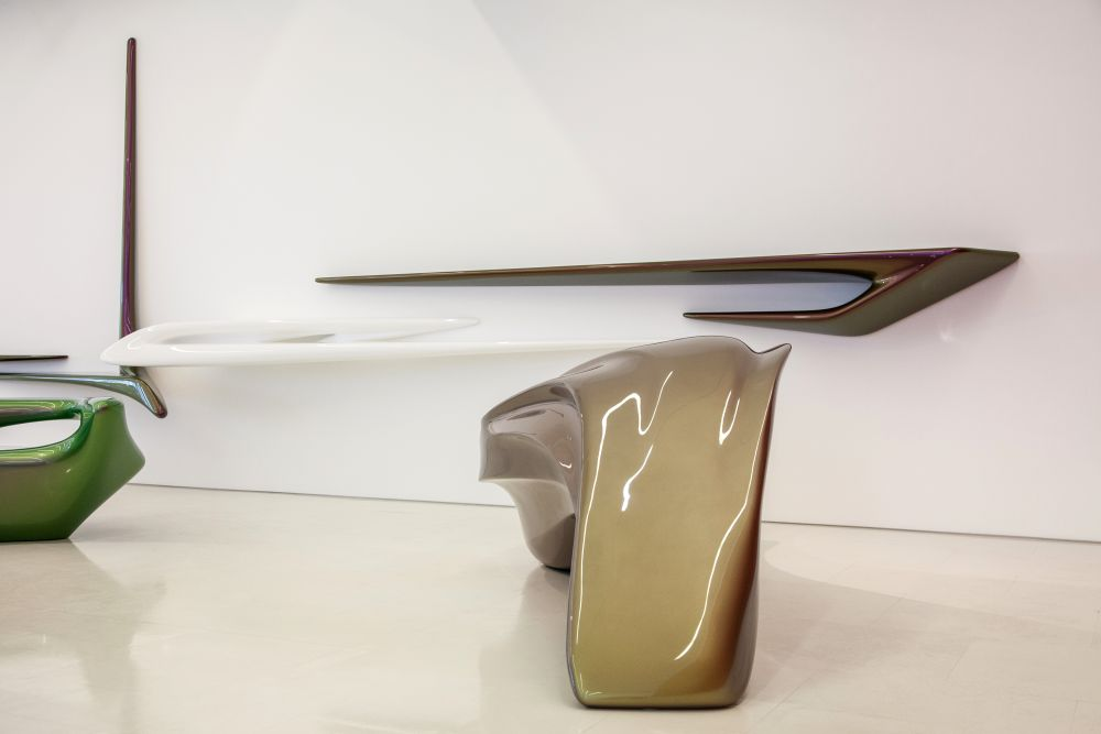 Curved and smooth lines on The Seamless Collection by Zaha Hadid Architects