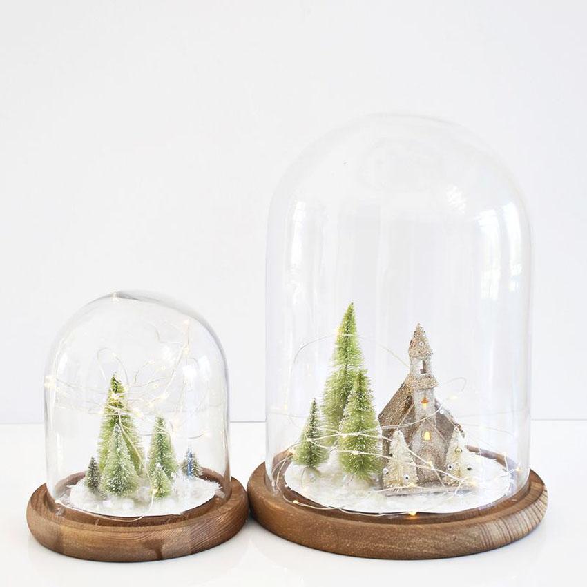 DIY christmas cloches