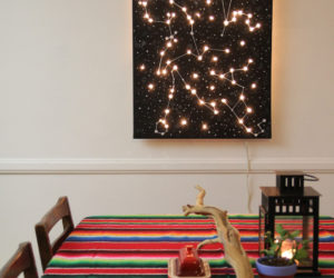 DIY constellation lights