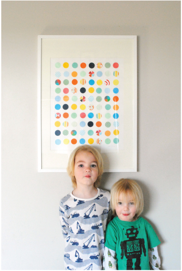 DIY dotty art